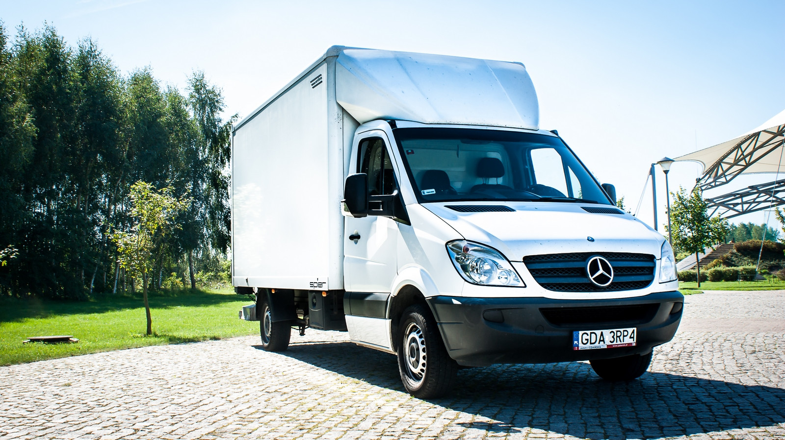 Mercedes Sprinter z Windą
