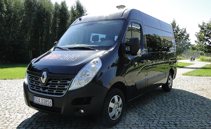 Renault Master L2H2 9 - osobowy